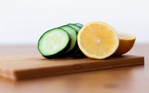 خیار و لیمو