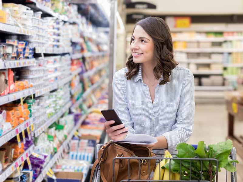 خرید خوراکی های سالم برای رژیم غذایی