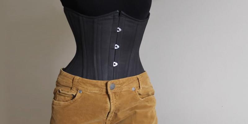 پوشیدن گن برای لاغر نشان دادن شکم