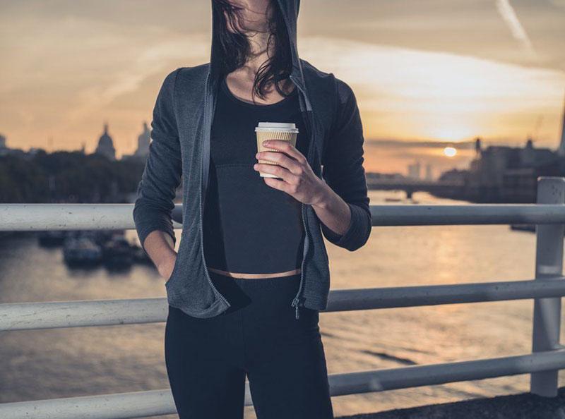 نوشیدن قهوه قبل از تمرینات ورزشی برای لاغری