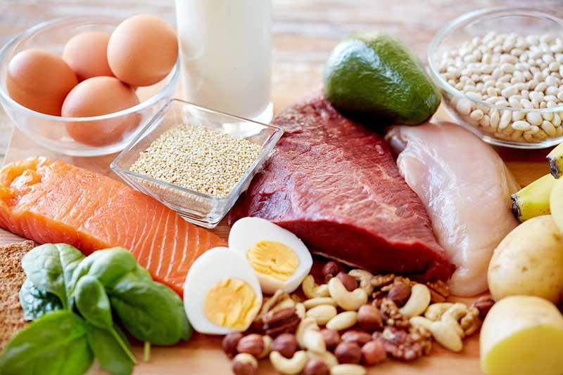 خوراکی های مناسب برای رژیم غذایی پروتئین