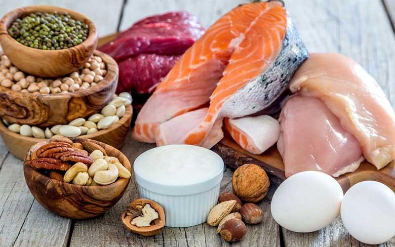 مواد غذایی حاوی پروتئین بالا