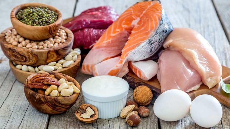 مواد غذایی پر پروتئین کم کربوهیدرات