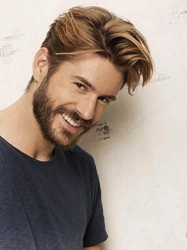 مدل موی به هم ریخته مردانه
