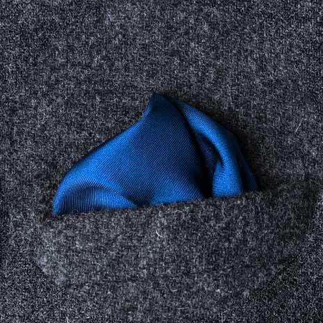 پوشت (دستمال جیب کت) مدل پف دار