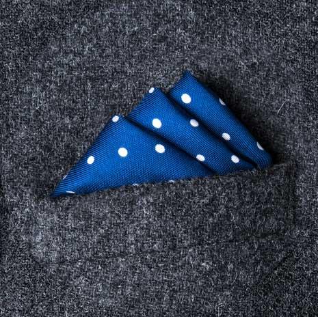 پوشت (دستمال جیب کت) مدل پله ای