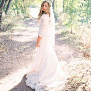 لباس عروس جذب و ساده