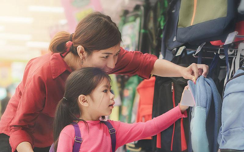 خرید کیف کوله پشتی برای مدرسه