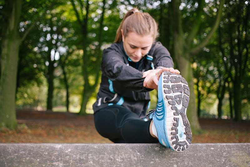 حرکات کششی پس از ورزش