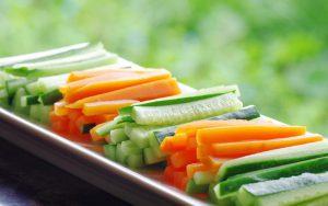 خیار و هویج