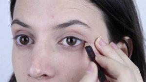 استفاده از خط چشم قهوه ای