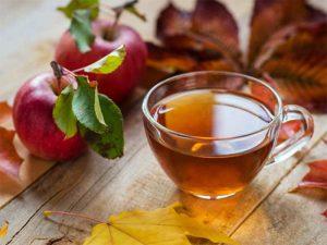 سرکه سیب و چای سبز
