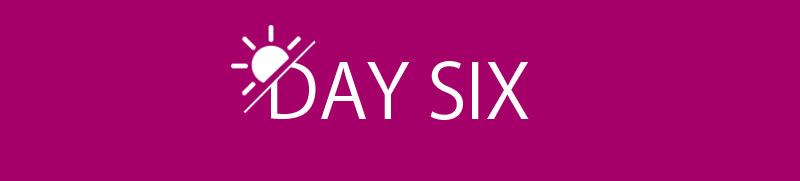 روز ششم رژیم