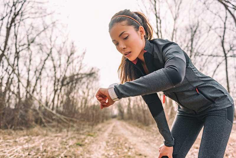 اندازه گیری زمان در حین ورزش