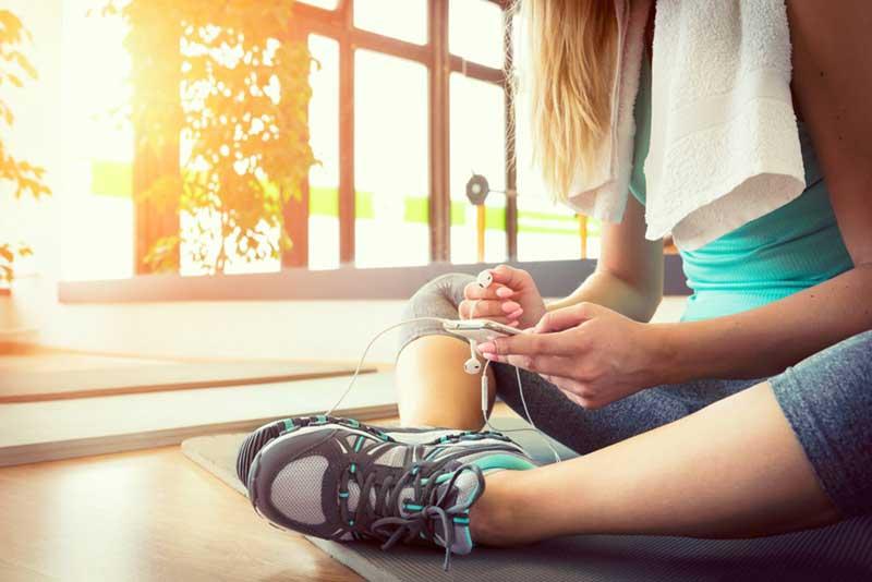 استراحت پس از تمرینات ورزشی