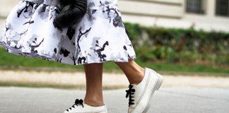 روش هایی برای ست کردن کفش سفید زنانه