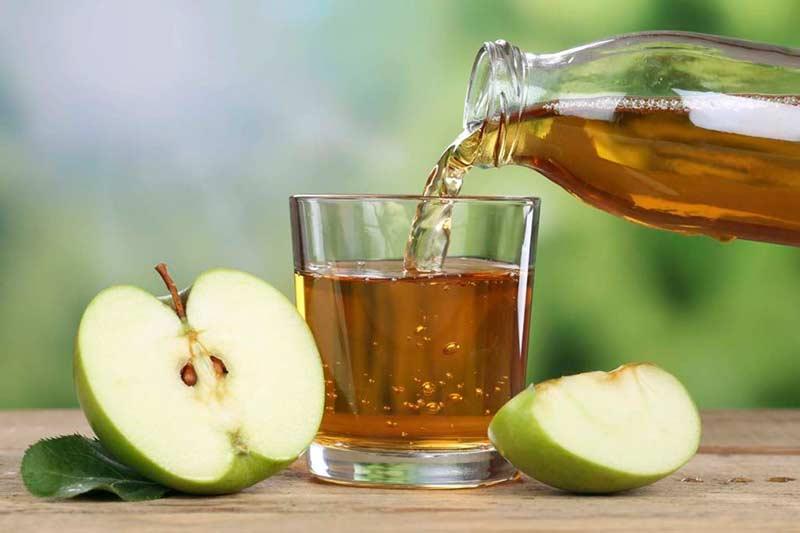 استفاده از سرکه سیب
