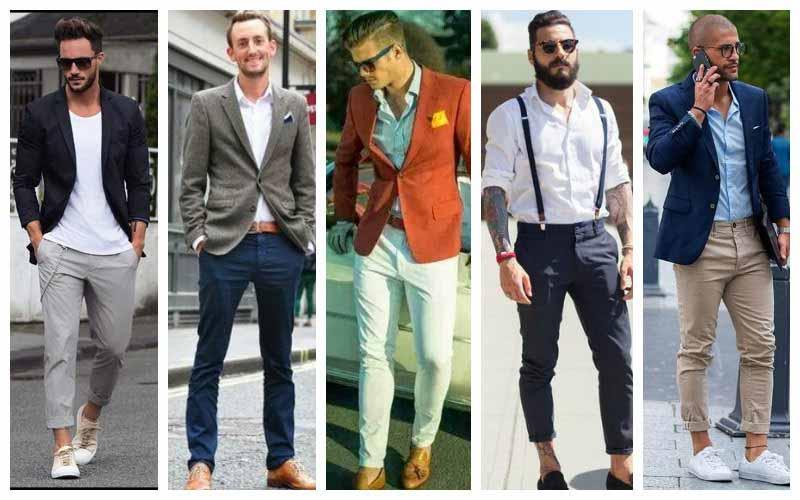 ست کردن لباس با شلوار کتان