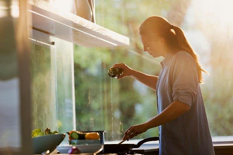 درست کردن غذای رژیمی با روغن زیتون