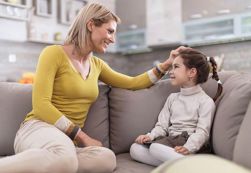 روابط صمیمانه مادر و فرزند