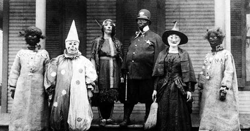 جشن هالووین در زمان های قدیم