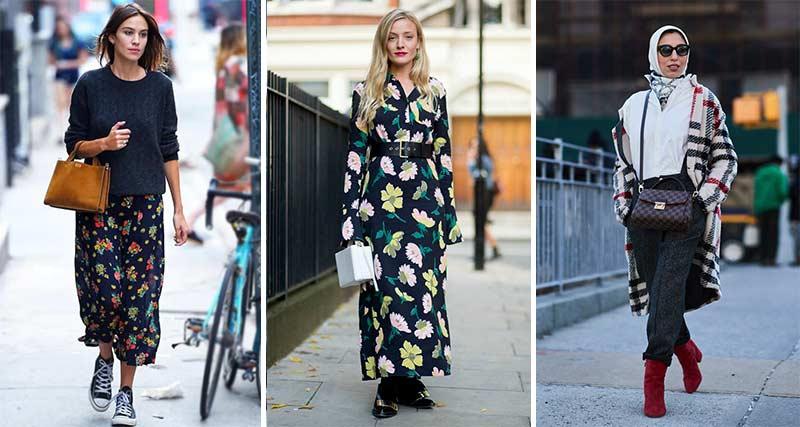 انتخاب طرح مناسب برای پارچه لباس پاییزی