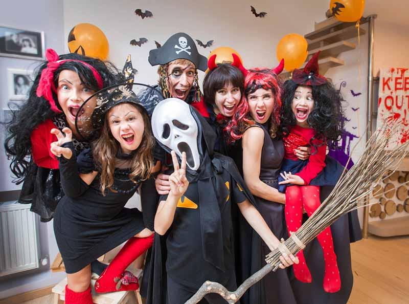 لباس هالووین گروهی