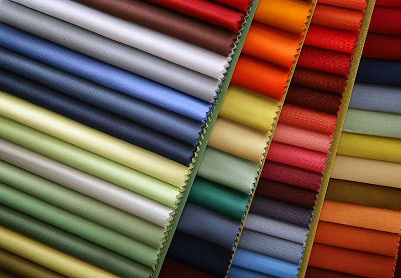 پارچه های رنگی ساده