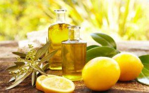 لیمو و روغن زیتون
