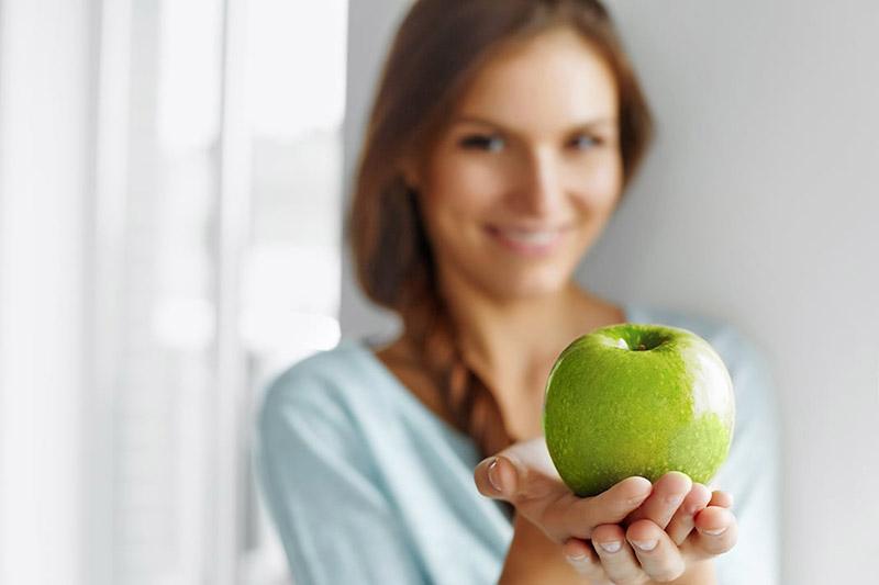 سیب سبز برای کاهش وزن
