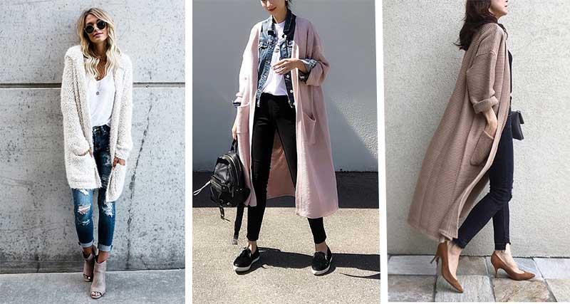 انواع مدل های ژاکت جلو باز زنانه