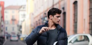 کاپشن پفی مردانه را چگونه بپوشیم؟
