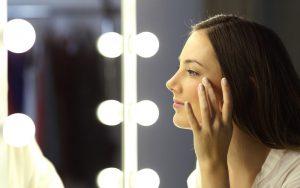 ریزسازی آرایش صورت