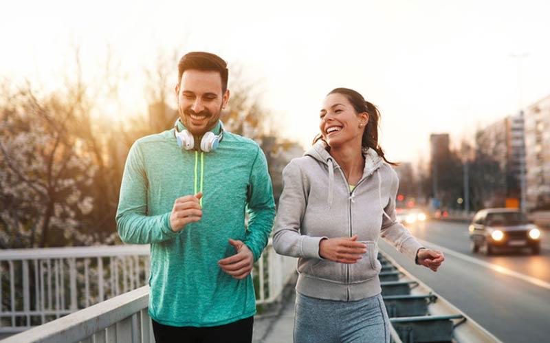 پیاده روی و دویدن برای لاغری