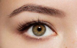 خط چشم ساده، باریک و طبیعی