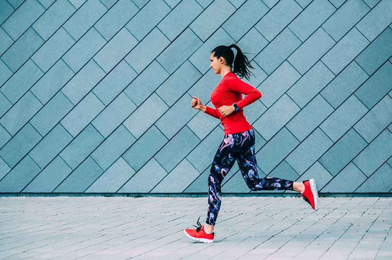 دویدن برای لاغری شکم