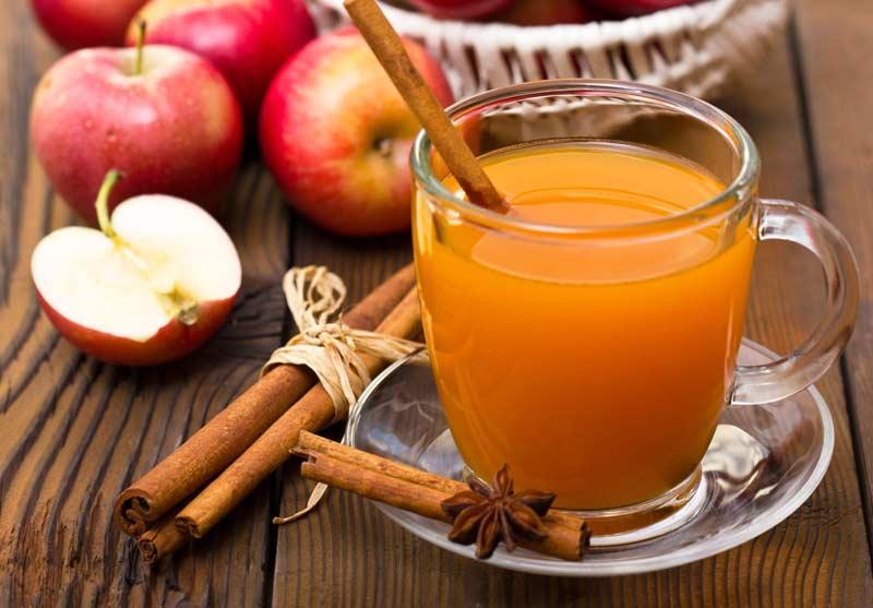 چای و دمنوش سیب و دارچین