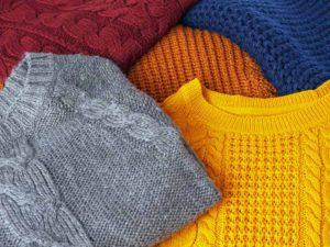 رنگ های مختلف پلیور یقه گرد مردانه