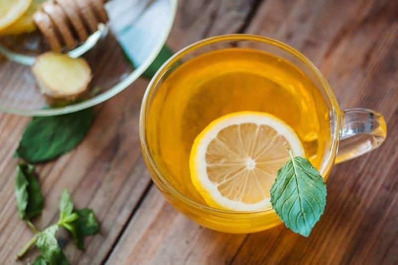 دمنوش گیاهی لیمو