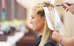 هایلایت کردن موها