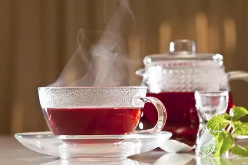 چای گیاهی ترش قرمز