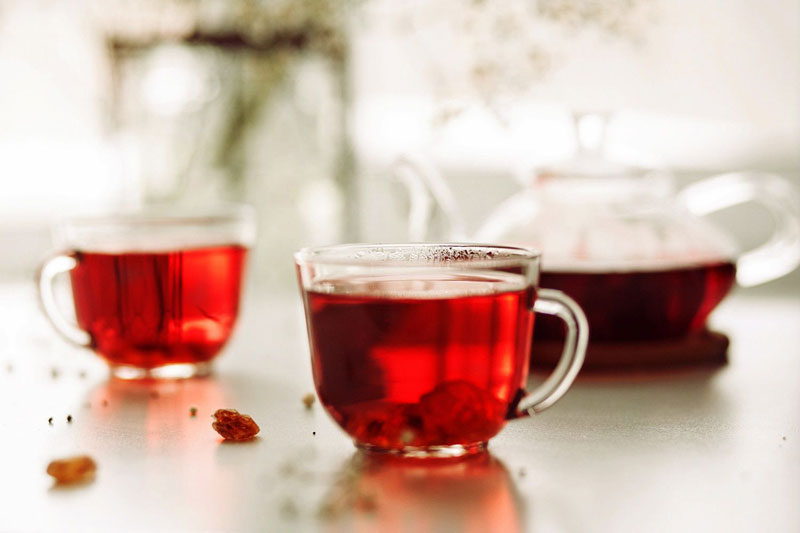 دمنوش چای ترش