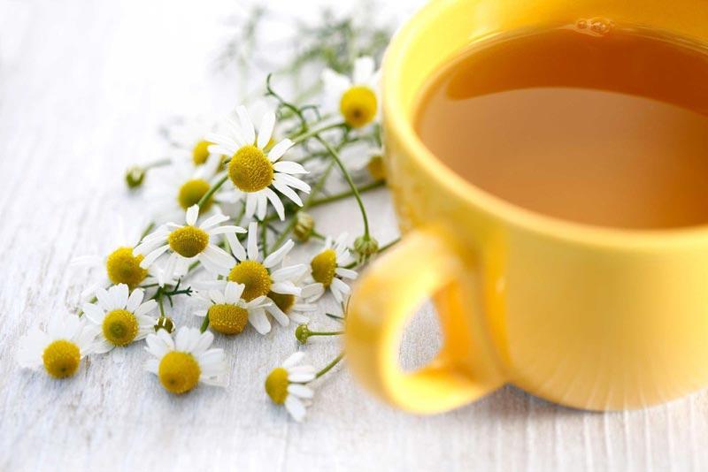 دمنوش چای بابونه