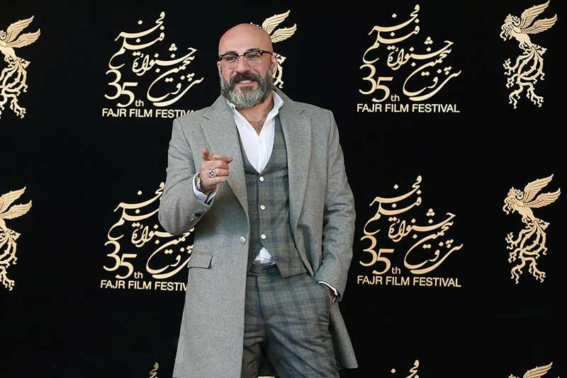 امیر آقایی در جشنواره فیلم فجر