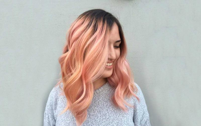 رنگ موی مرجانی