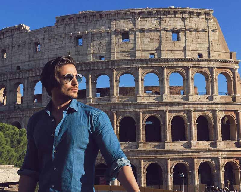 حمید فدایی در رم