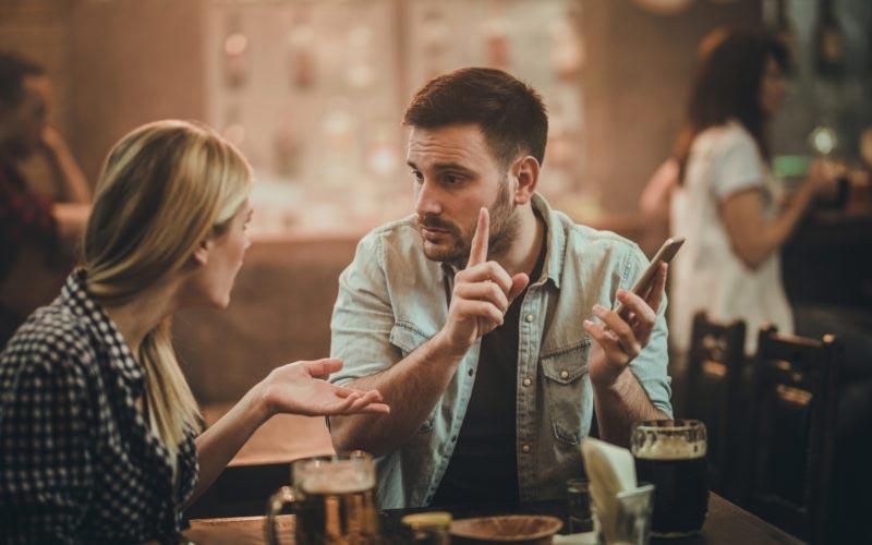 بحث و دعوا در رابطه