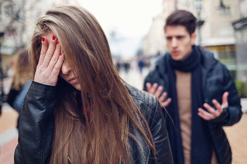 دعوا و جدایی در رابطه