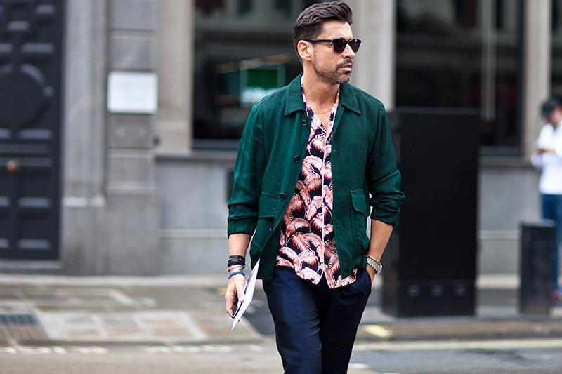 استایل مردانه تابستانی با کت