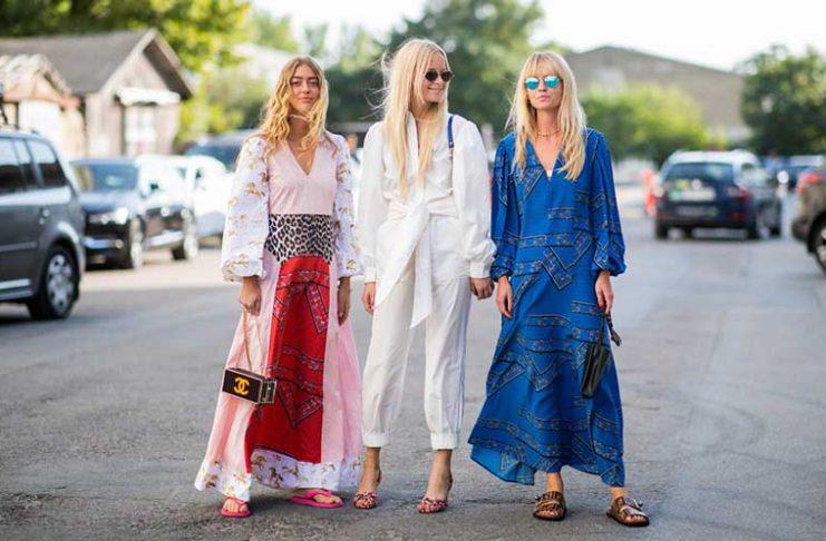 معرفی بهترین رنگ های لباس برای تابستان